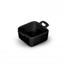 Форма для запекания с двумя ручками «Corone» 68х68 мм черная