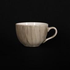 Чашка чайная 250 мл серо-коричневая «Corone Natura»
