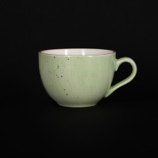 Чашка чайная 250 мл зеленая «Corone Natura»