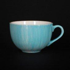 Чашка чайная 320 мл голубая «Corone Natura»