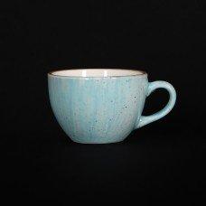 Чашка кофейная 95 мл голубая «Corone Natura»