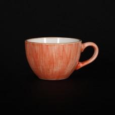 Чашка кофейная 95 мл коралловая «Corone Natura»