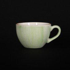 Чашка кофейная 95 мл зеленая «Corone Natura»