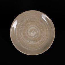 Тарелка мелкая 200 мм серо-коричневая «Corone Natura»