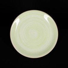 Тарелка мелкая 200 мм зеленая «Corone Natura»