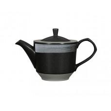 Чайник заварочный «Corone Rustico» 820 мл черный с белым