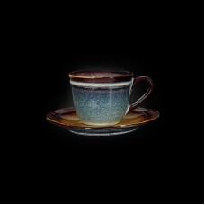 Чайная пара «Corone Verde» 210 мл синий+зеленый