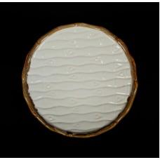 Тарелка мелкая «Provence» 196 мм рифленая