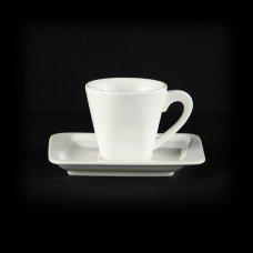 Кофейная пара квадратная «Sam&Squito» 80 мл