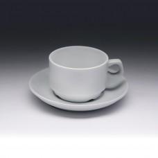 Чайная пара с круглым блюдцем «Collage» 155 мл