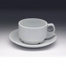 Чайная пара с круглым блюдцем «Collage» 250 мл