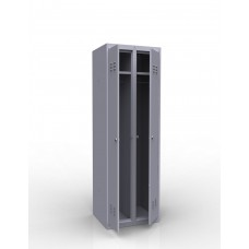 Шкаф металлический для одежды ШР-22 L500 500/500/1850