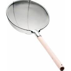 Сито 350 мм (мелкая сетка 1 мм) с деревянной ручкой [DT-Y1801-35]