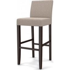 Стул барный «Ямато М» с мягким сиденьем (деревянный каркас)