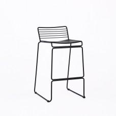 Стул полубарный «Демре» с мягким сиденьем (ножки стальные)