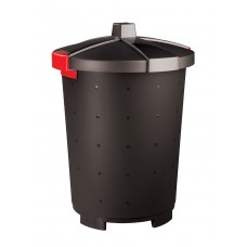 Бак для отходов с крышкой черный 65 л [460701681518, 431253713]
