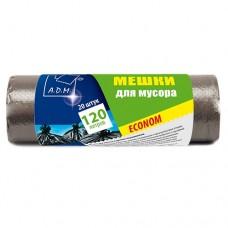 Пакеты 120 л для мусора в рулонах [PM121BL]