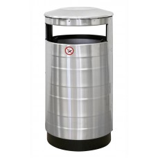 Урна для мусора уличная без пепельницы 440х800 мм [NPF AISI]