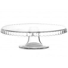 Подставка для торта стеклянная 280 мм «Патиссери» [03080541, 98259/b/П]