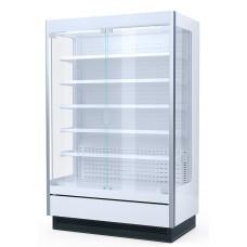 Витрина пристенная гастрономическая be cold! 375 E (со стеклянными дверьми)