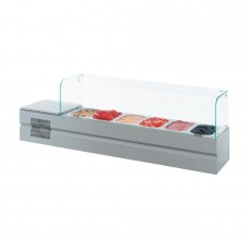 Витрина холодильная для компонентов пиццы Болонезе-6