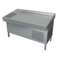 Прилавок холодильный «рыба на льду» ПХС-1,55/0,85, встройка