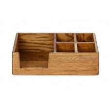 Ящик для сервировки 295х150х85 мм деревянный 4 отделения