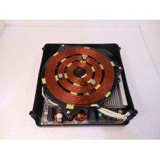 Монтажный комплект индукционной конфорки HW-QP3.5XK-05D (340*340) Luxstahl Без пульта